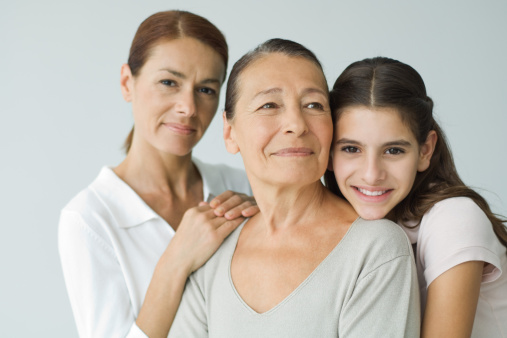 Three generations of women, portrait - gettyimageskorea