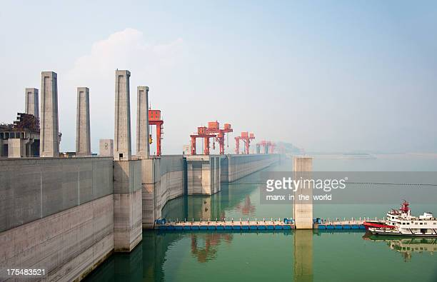 Three Gorges Dam on The Yangtze River