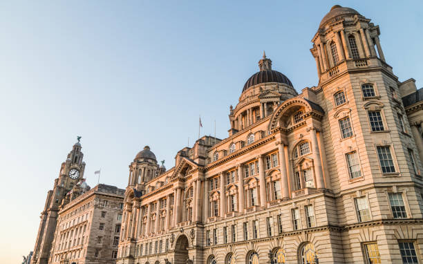 Three Graces bathed in golden light
