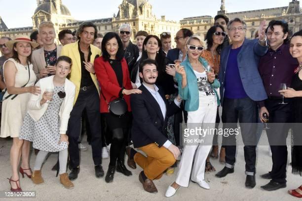 Three guests, Simon Collin, PR Sylvana Lorenz, Valentin Cavaille de Nogaret, Paula Marassi, a guest, Agnes Malterre, Jacques Ktorza, Photographer...