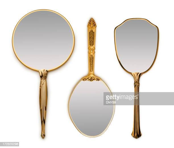 Drei Hand Spiegel