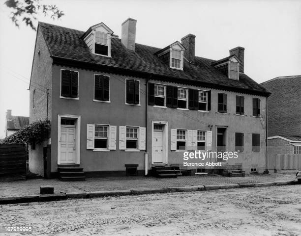 Three houses in New Castle USA 1933