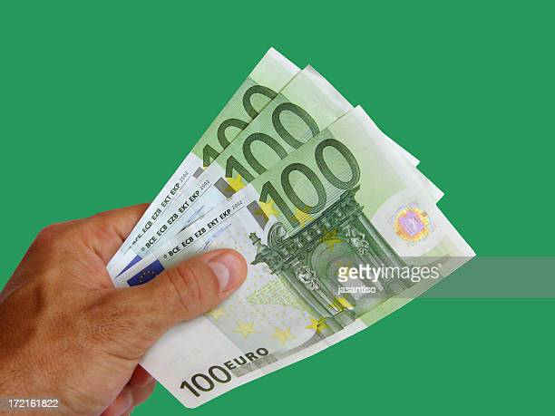 Three hundred euros payment