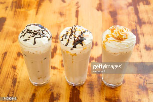 Three frappes