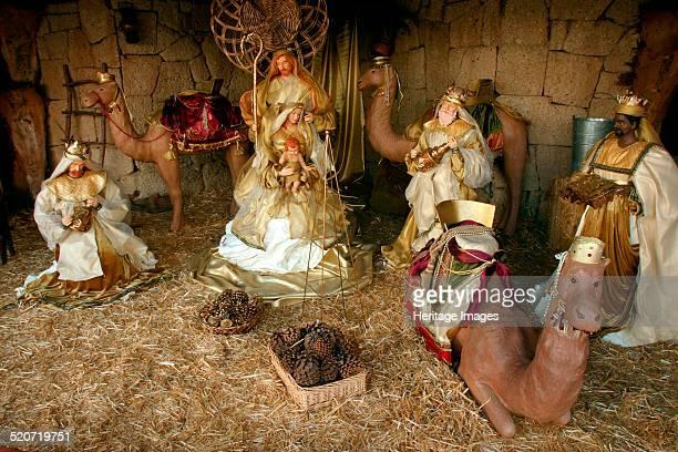 Three Kings Nativity scene Los Cristianos Tenerife Canary Islands 2007