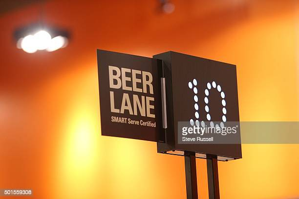 Three lanes at the Leslieville Loblawas are equipped to handle beer sales the lanes are staffed with chairs that have their Smart Serve certification...