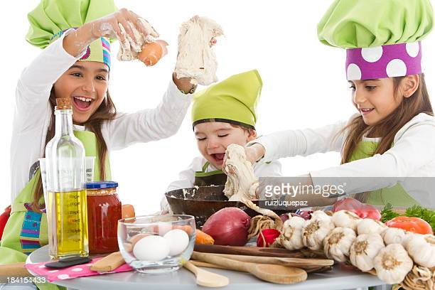 Three little cookers
