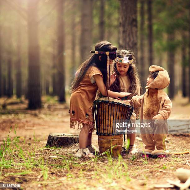three little drummers - arts culture and entertainment stock pictures, royalty-free photos & images
