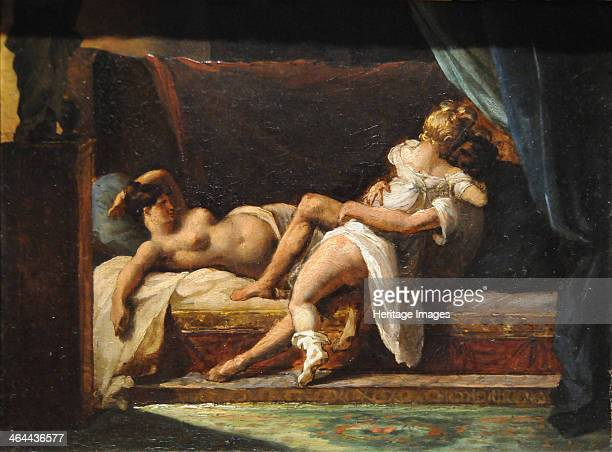 Three Lovers 18181820 Found in the collection of the J Paul Getty Museum Los Angeles