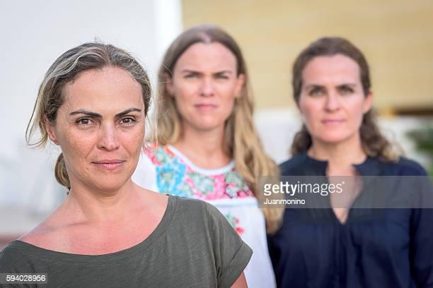 Three Mature women