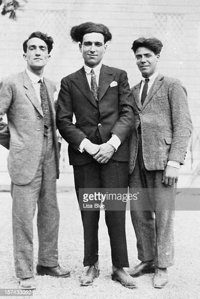 three men from 1917.black and white - roaring 20s stock photos and pictures