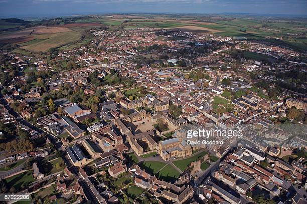 Three miles east of Yeovil is the picturesque market town of Sherborne situated on the river Yeo on 20th October 2007