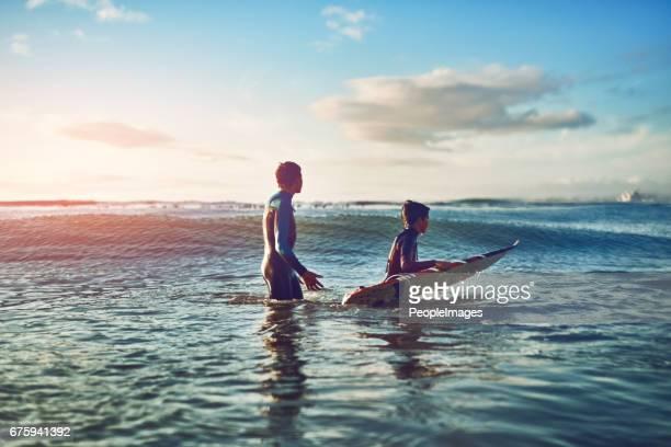 Tre viktigaste sakerna i livet, surf, surf och surf