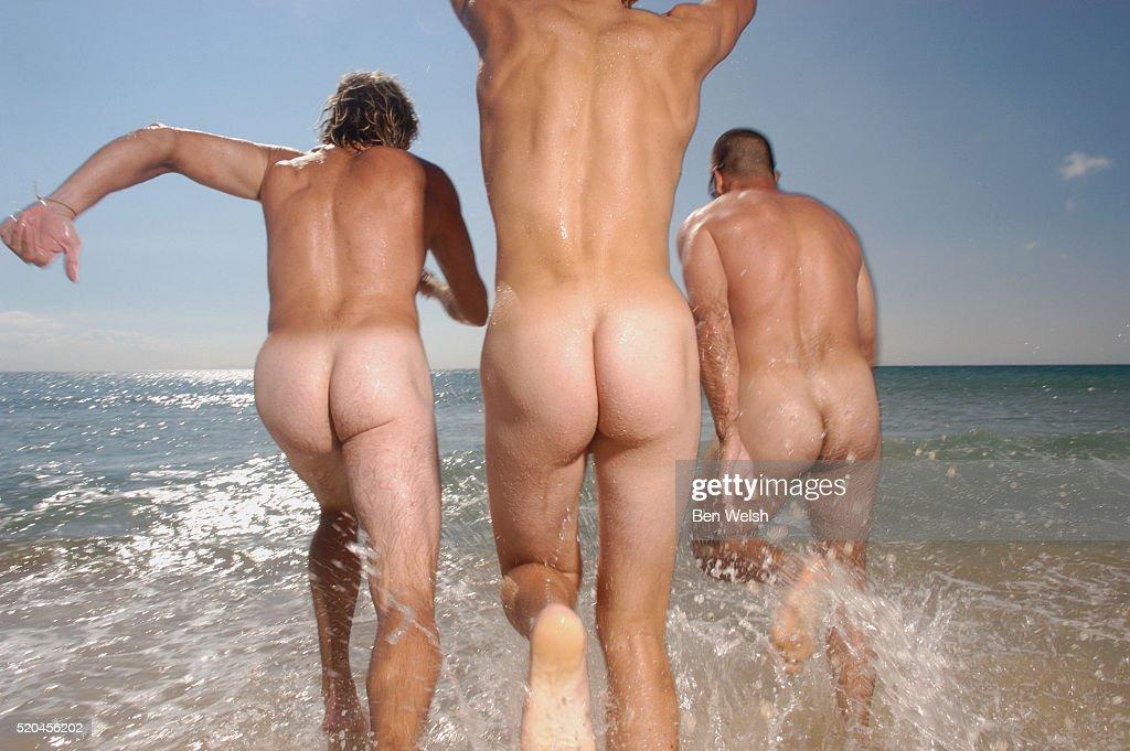 TASHA: Naked men on sea