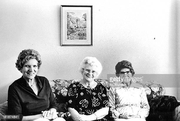 SEP 8 1981 SEP 9 1981 Three of the 31 graduates reminisce at 50th reunion Alice Cox Olive hansen and Helene Sorensen recall hard but fun days