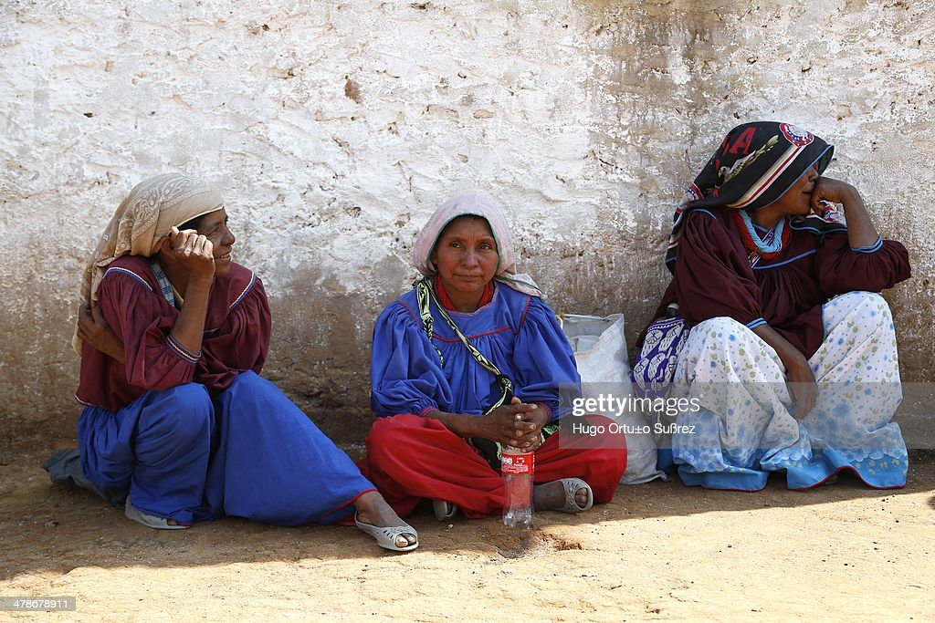 Wixarika culture intact in Jalisco - Mexico : News Photo