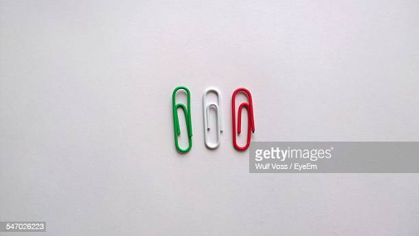 Three Paper Clips