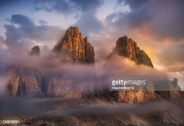 Three Peaks of Lavaredo, Dolomite Mountains, Italy