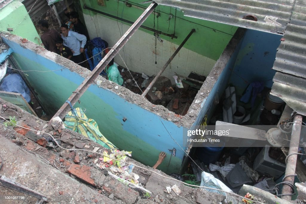 Wall Collapsed In Thane, Three People Injured Including A Three-Year-Old Boy