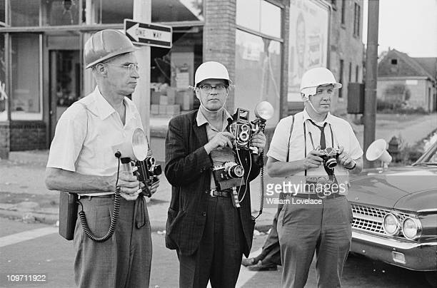 Three photographers document the race riot in Rochester New York State late July 1964