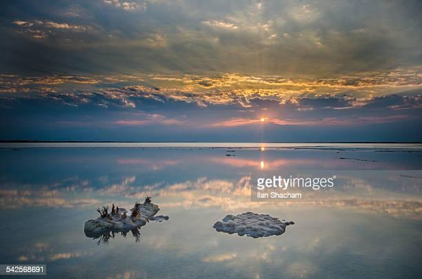 Three point dead sea sunrise