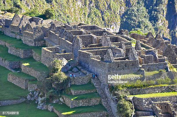 Three Portals Sector & Storehouses in Machu Picchu