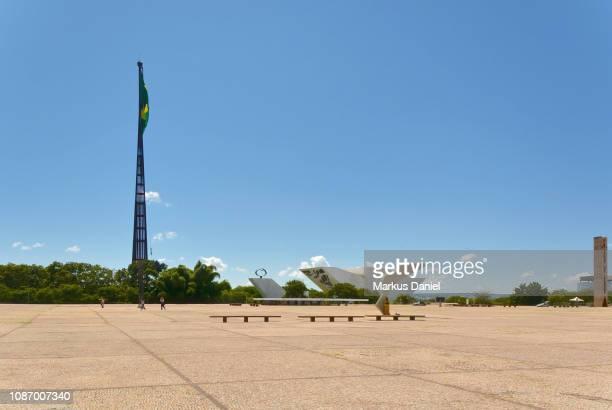 Three Powers Plaza (Praça dos Três Poderes) in Brasilia