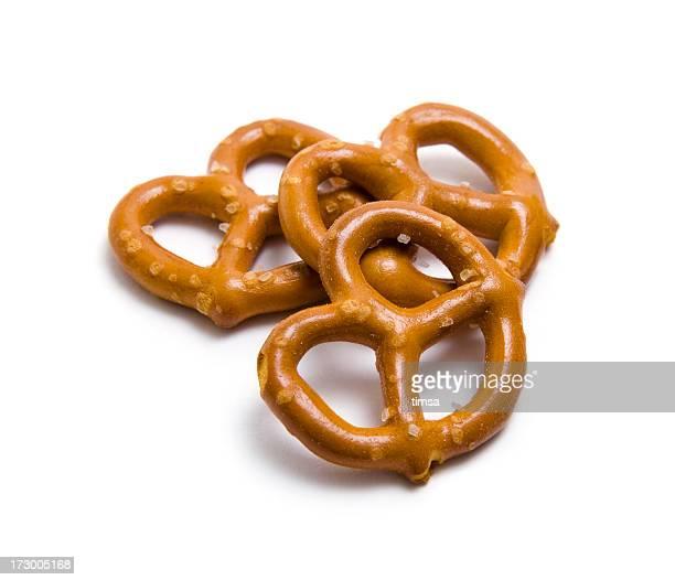 Tres pretzels
