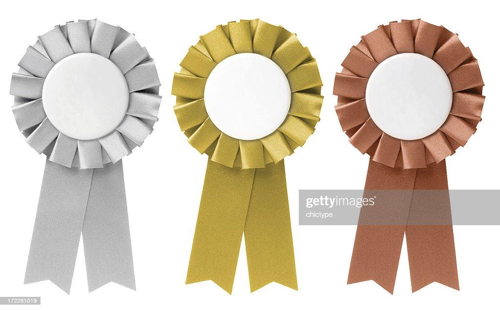 Fitas/prêmios : Foto de stock