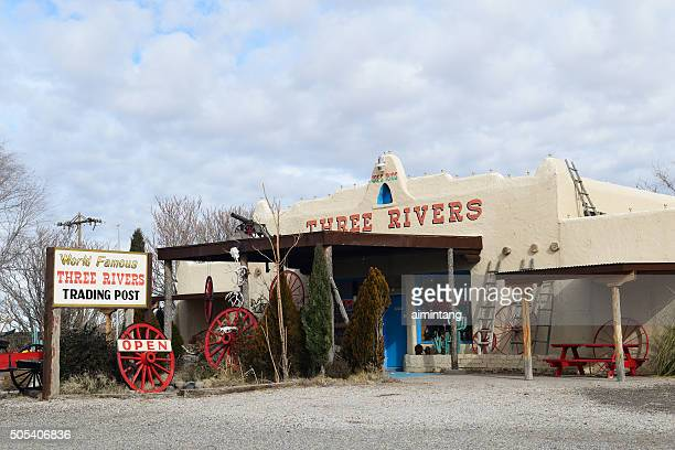 three river trading post in tularosa - trading_post stock pictures, royalty-free photos & images