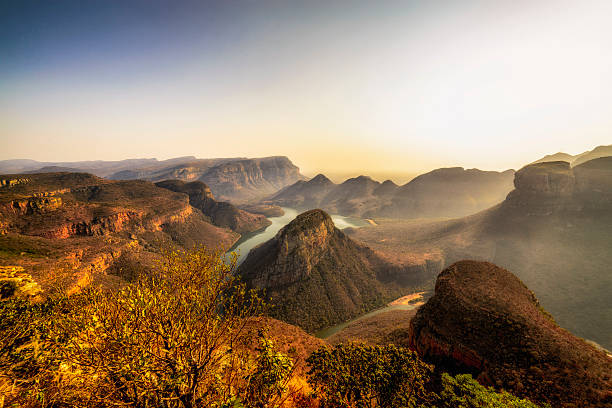 Three Rondavels In The Blyde River Canyon Wall Art