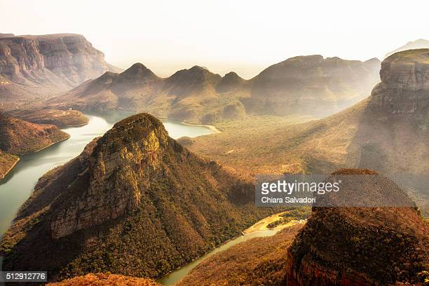 Three Rondavels in the Blyde River Canyon