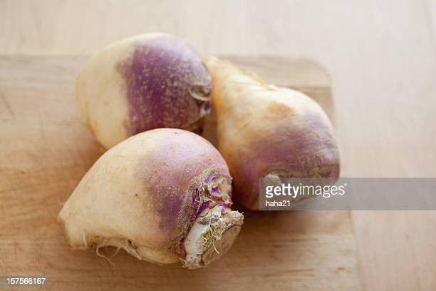 three rutabagas - rutabaga stock pictures, royalty-free photos & images