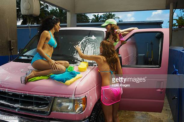 Sexy Car Washes Stock Pictures Royalty Free Photos Images