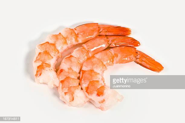 Trois des crevettes
