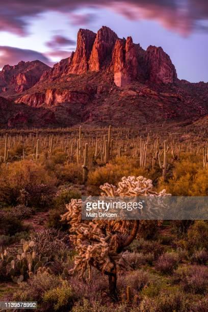 Three Sisters in Southern Arizona
