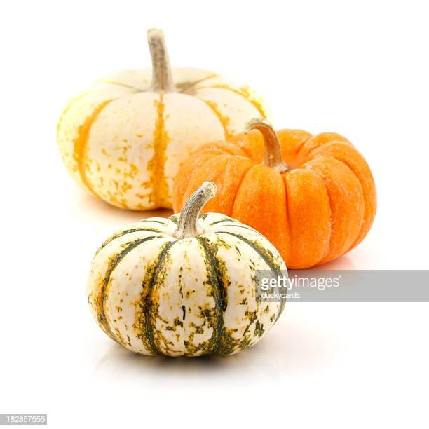 Three Small Pumpkins