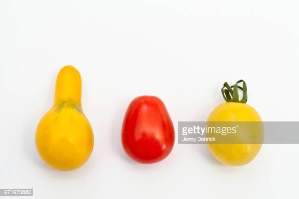 Three small tomatoes