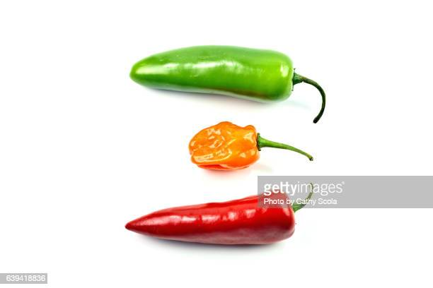 Three Spicy Peppers