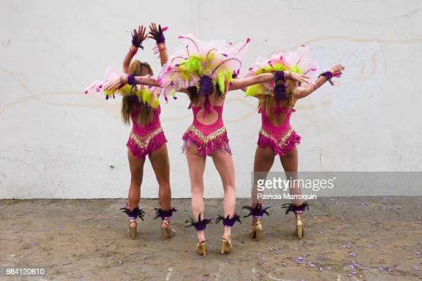 Three Summer Solstice Dancers
