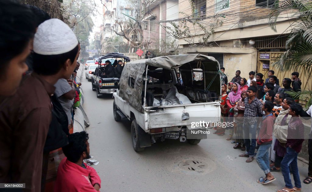 Three Militants Died in Dhaka : News Photo