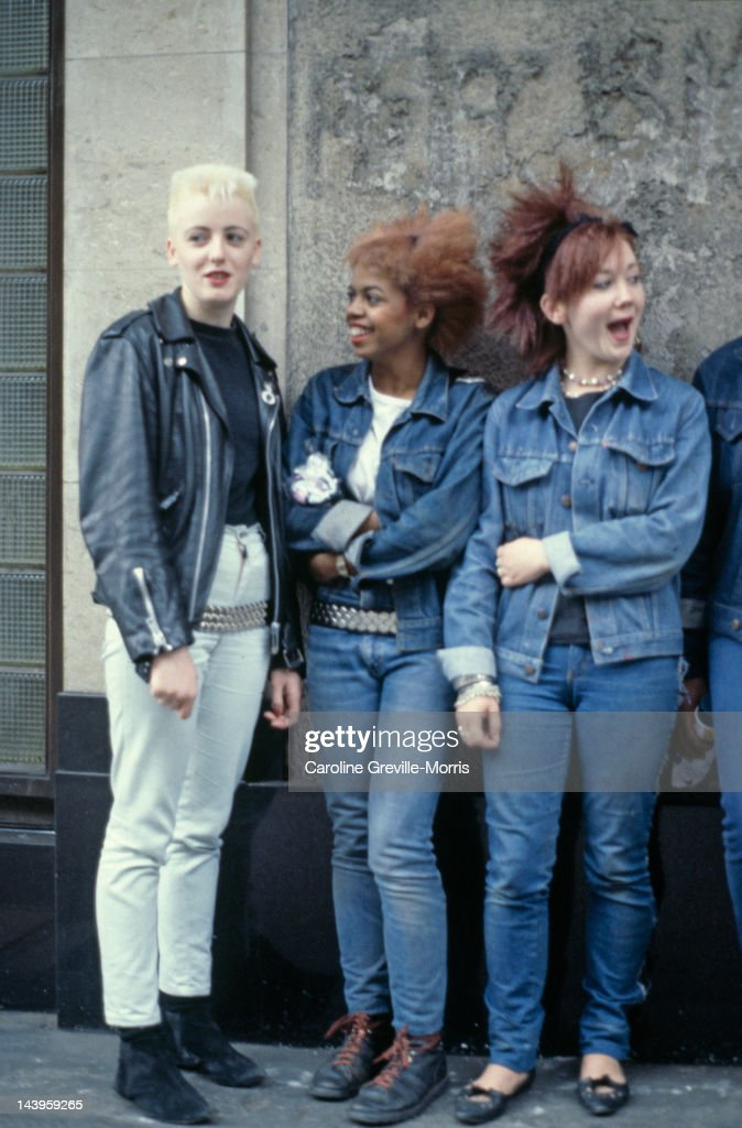 Post Punk Fashions : News Photo
