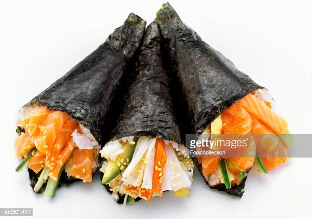 Three Temaki Sushi