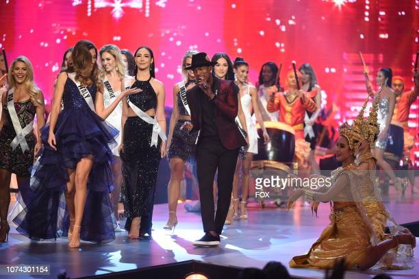 Three time Grammy winner and music superstar NeYo performs at the the 2018 MISS UNIVERSE competition airing live from Bangkok Thailand on Sunday Dec...