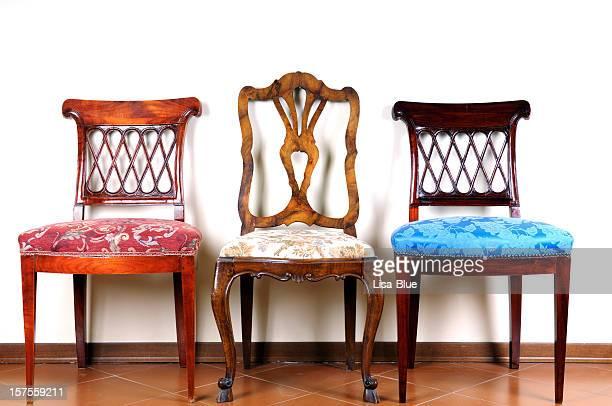 Three Vintage Chairs