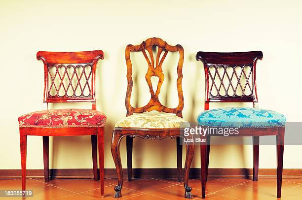 Three Vintage Chairs