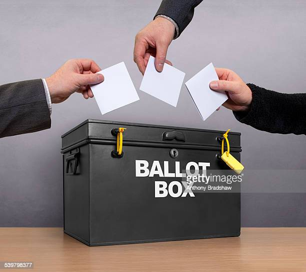 Three votes for the ballot box