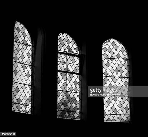 Three Windows in Oswestry Methodist Church