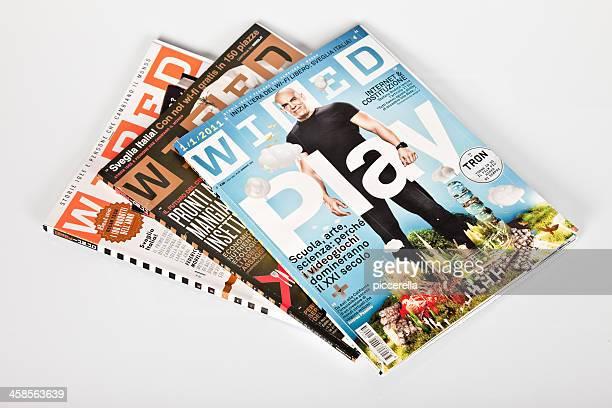 Drei Zeitschrift Wired