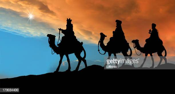 Three Wise Men (Photographed Silhouette)